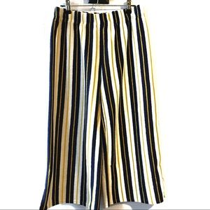 Urban Outfitters Striped Culottes Small